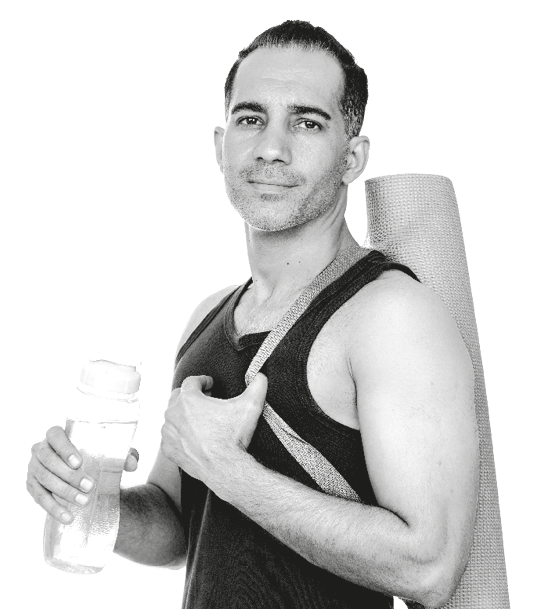Man Ready To Have A Workout